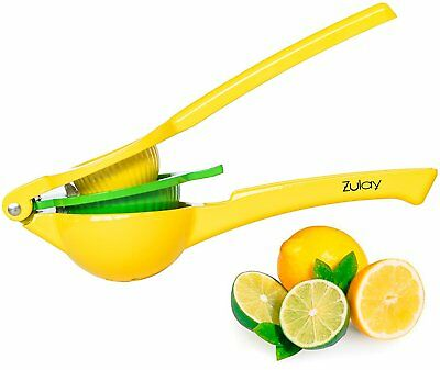 Lemon Lime Squeezer Premium Quality Metal Manual Hand Citrus Press Juicer