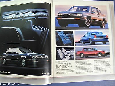 "1988 Oldsmobile ""The Tenth Decade"" Full Line Sales Brochure D6345"