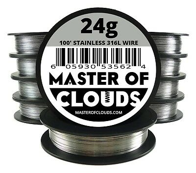 Wholesale - Stainless Steel 316L Wire - Lot of 10 Spools - Pick a Gauge & Length