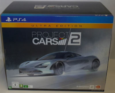 Project Cars 2 - Ultra Collector's Edition Ps4 Nuovo Sigillato New Sealed Rare