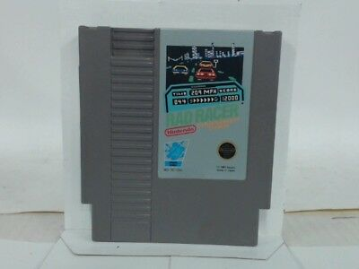 RAD RACER NES Nintendo Good