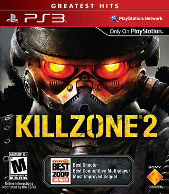 Killzone 2 COMPLETE Sony Playstation 3 PS3 Game