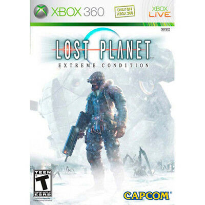 XBOX 360 VIDEO game Lost Planet: Extreme Condition CLEANED