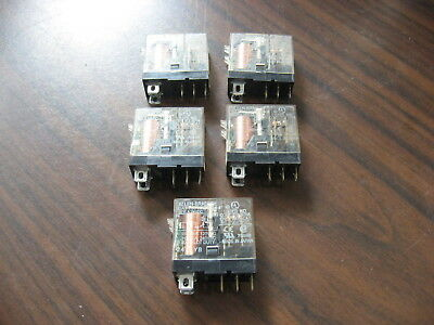 Lot of 5 Allen Bradley 700-HK36Z24-4 Cube Relays