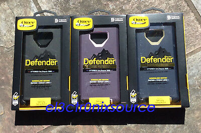 NEW Otterbox Defender Case & Belt Clip Holster for Samsung Galaxy Note 9