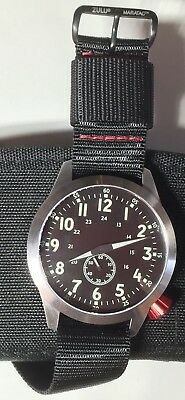 Maratac Pilot Watch 46mm automatic DISCONTINUED RARE NEW LIMITED RED CROWN ED