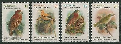 The Art Of John Gerrard Keulemans 2018 - Mnh Set Of Four (G08)