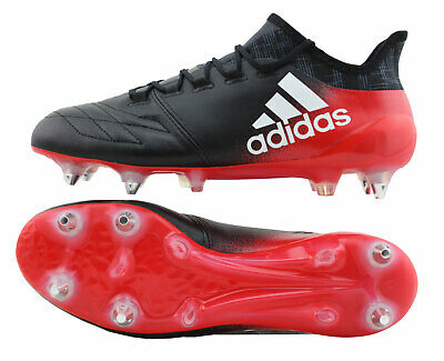 b49d1c7ed ... usa adidas x16.1 sg stollen red limit pack leder bb5626 schwarz rot uk 6