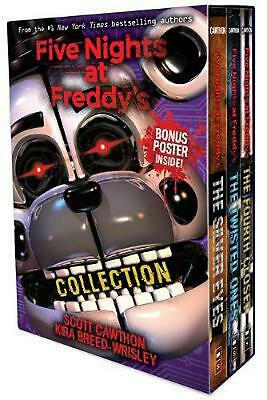 Five Nights At Freddy's 3-book Boxed Set by Scott Cawthon Paperback Book Free Sh