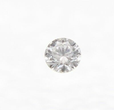 0.05 Carat D Color SI3 Round Brilliant Natural Loose Diamond For Jewelry 2.47mm