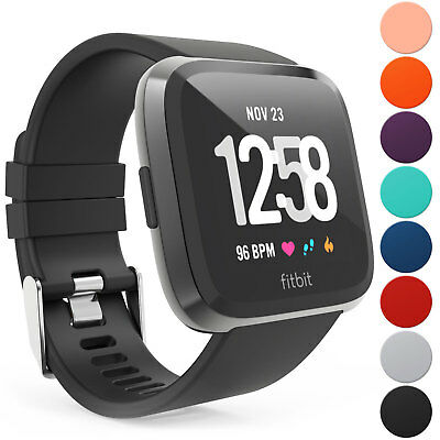 Fitbit Versa Wrist Straps Wristbands, Best Replacement Accessory Watch Bands UK