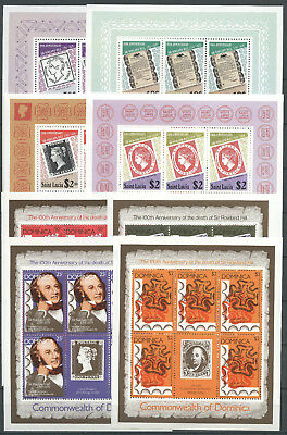 Hill, Marke auf Marke - LOT ** MNH