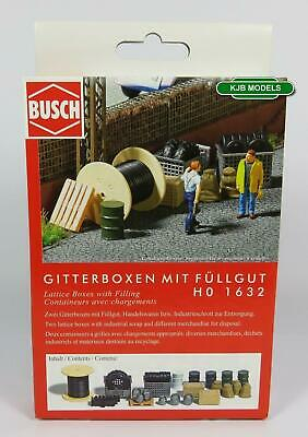 Bnib Oo / Ho Busch 1632 Crates + Industrial Scrap - Tyres, Cable/ Oil Drums Etc