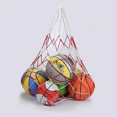 Portable Nylon Basketball Football Net Bag Outdoor Sports Balls Storage Mesh Net