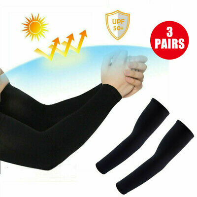 4 Pairs UV Protection Cooling Arm Sleeve UPF 50 Sun Sleeves For Men Women Unisex