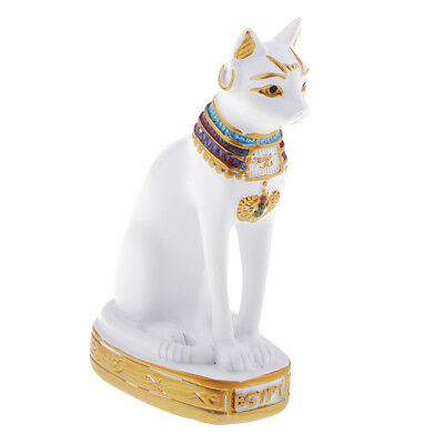 Ancient Egypt Egyptian Goddess Cat Bastet Pharaoh Figurine Statue Decoration