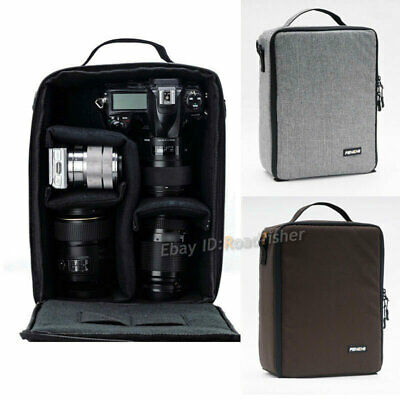 Camera Bag Insert Partition Carry Case Pouch Lens Case For DSLR Canon Nikon Sony