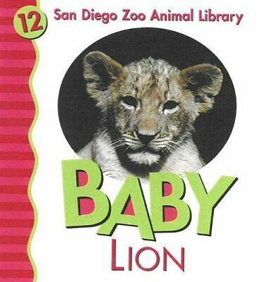 Baby Lion (San Diego Zoo Animal Library) by Shively, Julie D. Board book Book