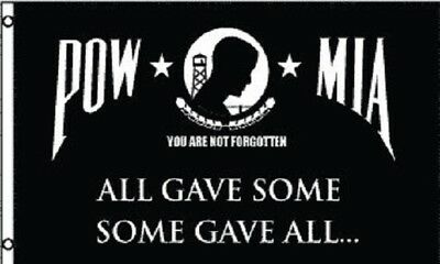 3x5 POW Some Gave All Flag POW MIA Memorial Banner Military Pennant Outdoor
