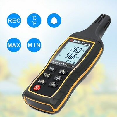 Handheld Digital LCD Lux Meter Illuminometer Lamp Tester Light Measuring