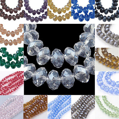 Crystal Navette Marquis Large 25x12mm Chinese Crystal Glass Beads Q2 Strands