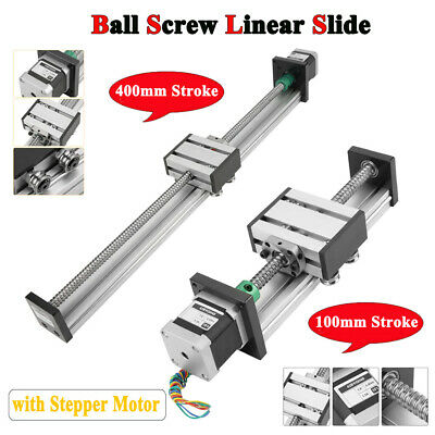 1204 Ball Screw Linear Slide Stroke Long Stage Actuator with Stepper Motor 1pc