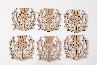 frame 10 Pack Thistle Blanks MDF Plaques Scottish Choose Size #04 decoration