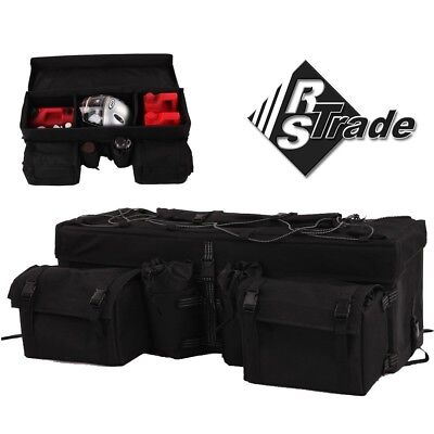 ATV Quad Softbag Top Case Quadkoffer Transportbox Gepäcktasche Staubox Box