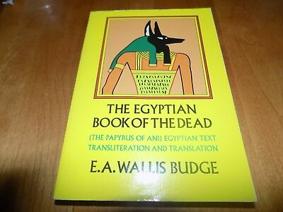 THE EGYPTIAN BOOK OF THE DEAD Ancient Egypt Text Translation Papyrus Texts Book