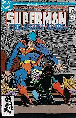 Superman The Secret Years No.3 / 1985 Bob Rozakis Curt Swan / Frank Miller Cover