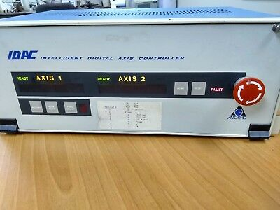 ANORAD Rackmount 2-Axis Intelligent Digital Axis Controller (IDAC)