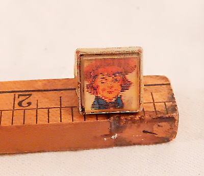 VINTAGE BUSTER BROWN FLICKER RING & DOG TIGE w DIFF VIEWS WHEN MOVING