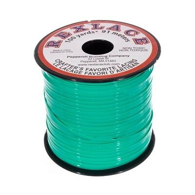 Craft County Plastic Lacing for Crafts - Rexlace and Pepperell - 3/32 inch width