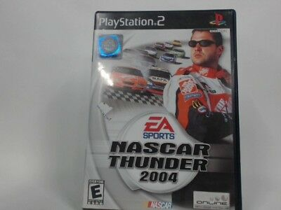 Nascar Thunder 2004 Playstation 2 Ps2 Complete In Box W/ Manual Cib Very Good