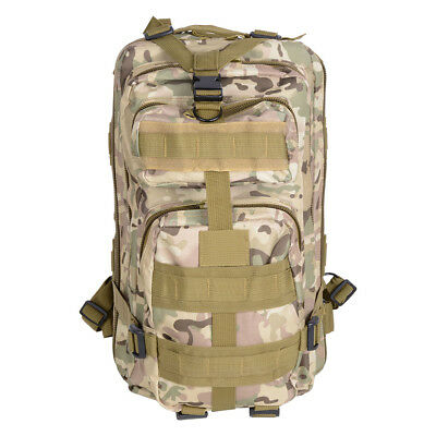 30L Hiking Camping Outdoor Sport Backpack Oxford Travel Military Bag Camouflage