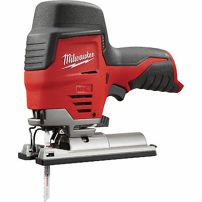 Milwaukee M12 Cordless Jig Saw - Tool Only, 12 Volt, Model# 2445-20