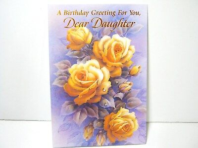HAPPY BIRTHDAY GREETING CARD For DAUGHTER ABSOLUTE PERFECTION