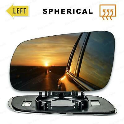 For Volkswagen Sharan 98-03 Left passenger side Flat Electric wing mirror glass