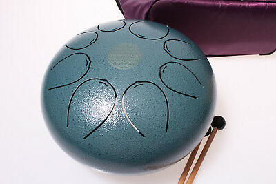 Tank Drum  25 cm  Steel Tongue Drum    Handpan     Tankdrum    Percussion