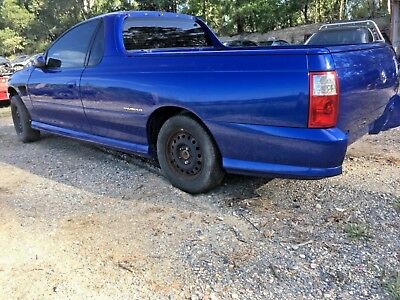 VZ SS Holden Commodore Ute rolling shell damaged project parts