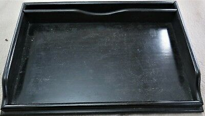 Ebony Dressing Table Tray (or us as desk tidy?)