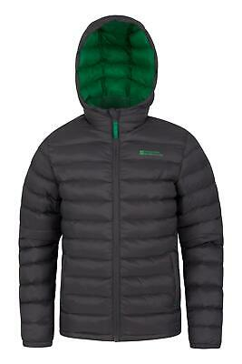 Mountain Warehouse Seasons Boys Padded Jacket with Water-resistant