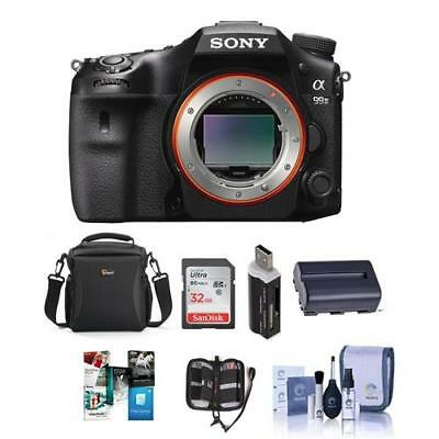 Sony Alpha a99 II DSLR Body With Free Accessory Bundle #ILCA-99M2 A
