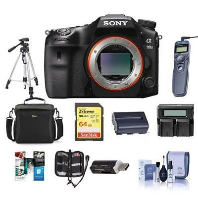 Sony Alpha a99 II DSLR Body With Premium Accessory Bundle #ILCA-99M2 B