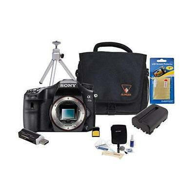 Sony Alpha 77 Mark II Translucent Mirror DSLR Camera Bundle. Value Kit with Acc