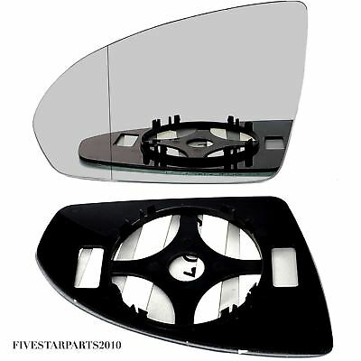 Smart Fortwo Left Passenger wing mirror glass 2007-2014 door side Wide Angle
