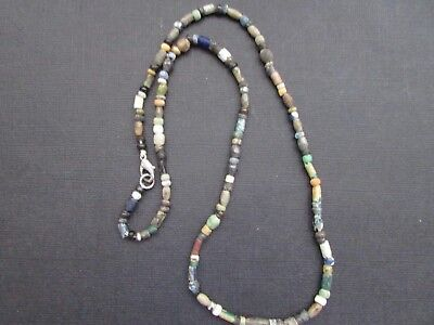 NILE  Ancient Egyptian Roman Period Mosaic Beads ca 100 BC
