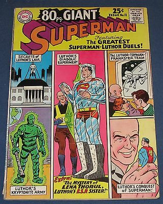 80 Page Giant #11  June 1965  Superman  All Luthor Issue