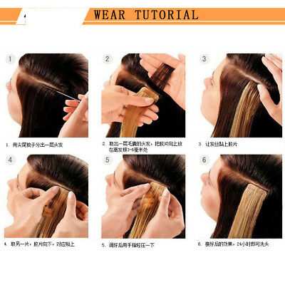 Clip In Long Straight Hair Extension Pony Tail Wrap Around Ponytail Hair Piece Z