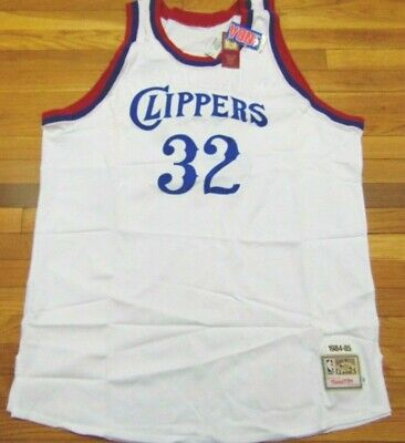 d12f4e310713d Mitchell & Ness Nba Throwback Los Angeles Clippers Bill Walton White Jersey  60